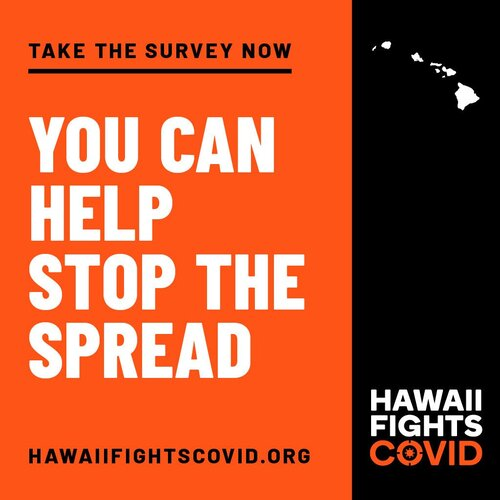 Hawaii Fights Covid Logo